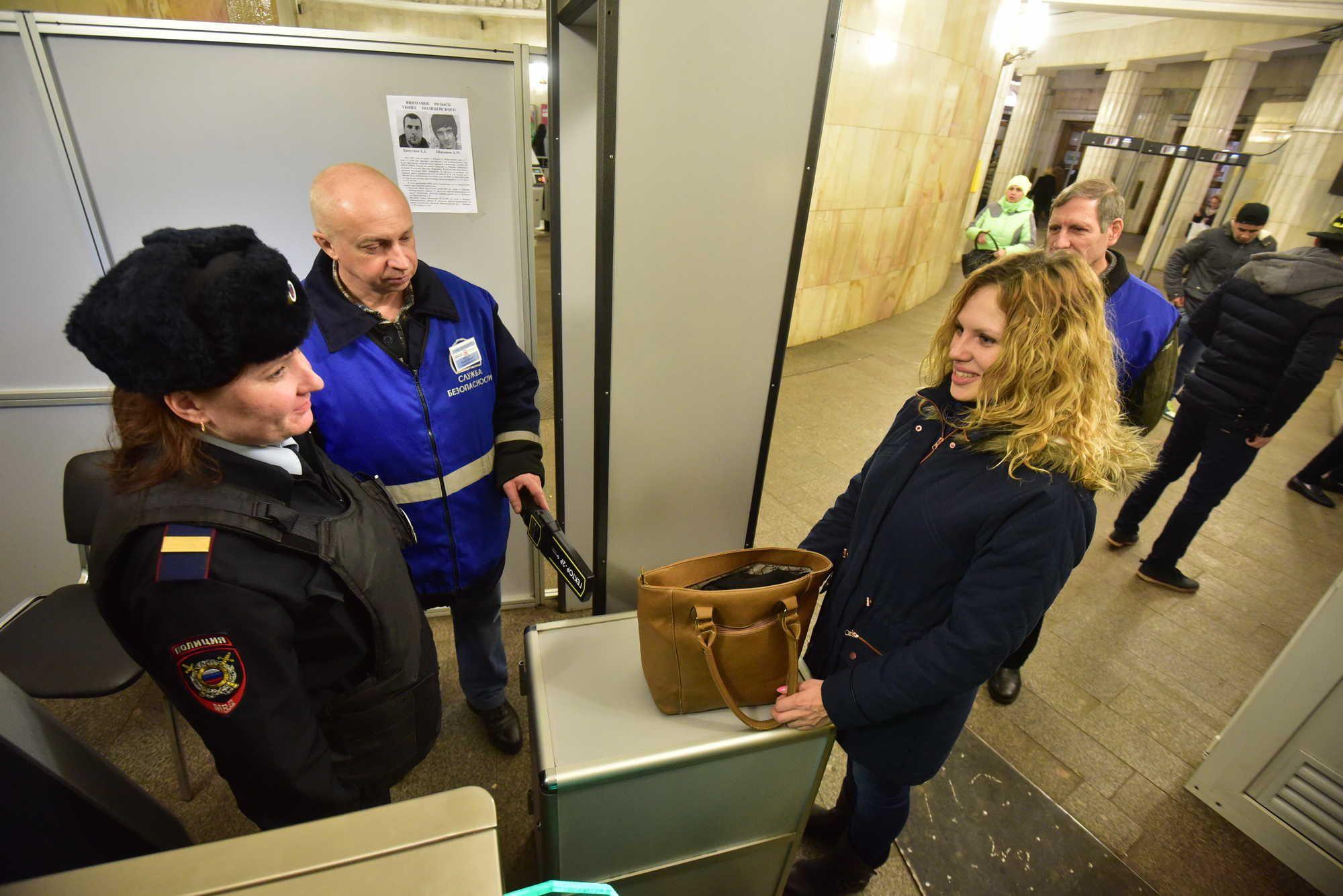 Метро Москвы отметило снижение числа опасных предметов