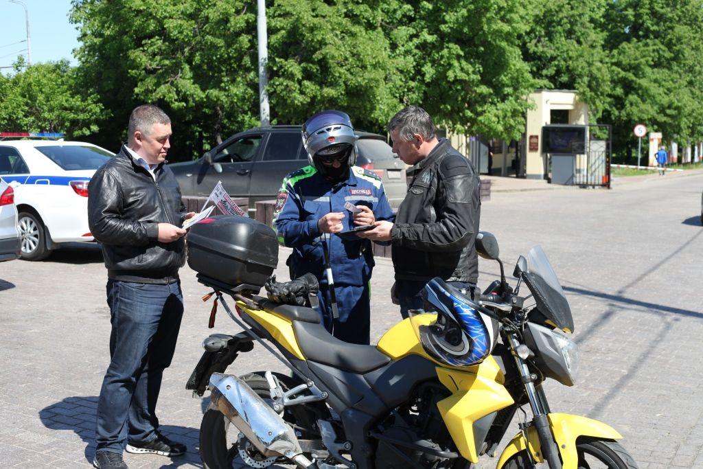 Сотрудники полиции УВД по ЮАО провели профилактическое мероприятие по предупреждению нарушений Правил дорожного движения водителями мототранспортных средств