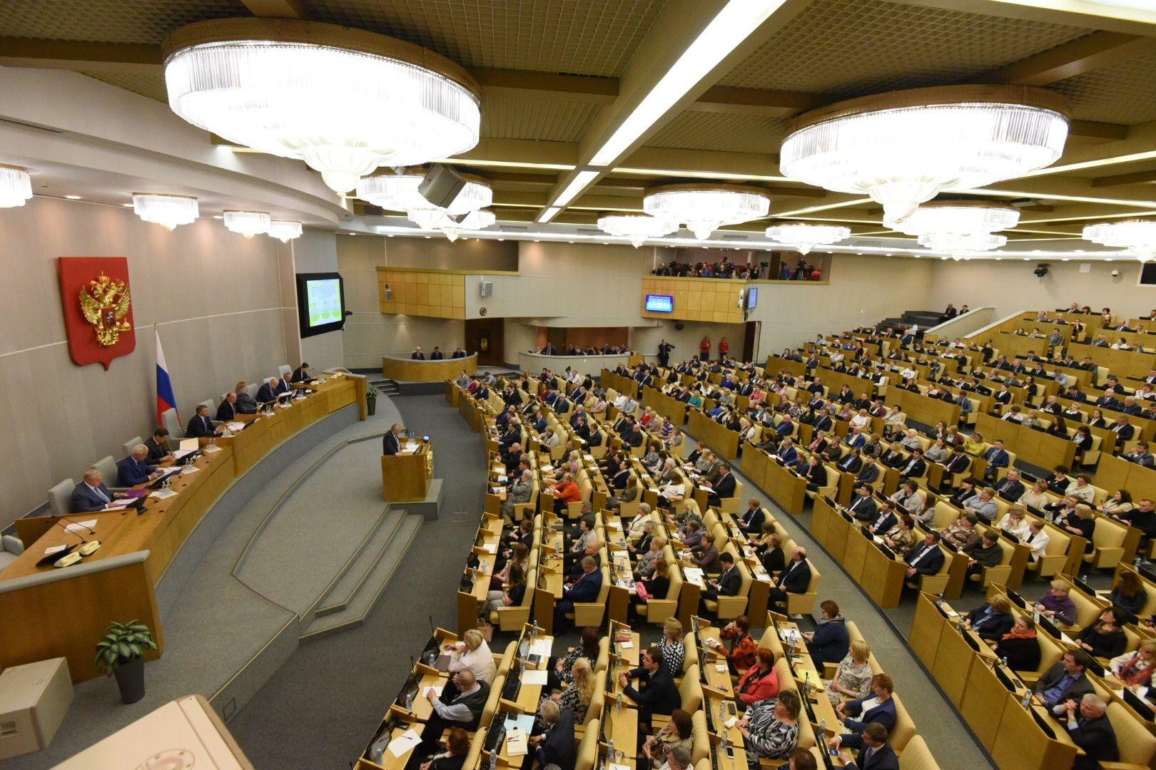 Госдума приняла три закона об электронном голосовании в Москве