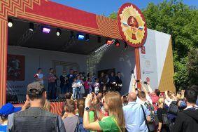 Спортивный фестиваль «Готов к труду и обороне» организовали в столице. Фото: Юлия Панова