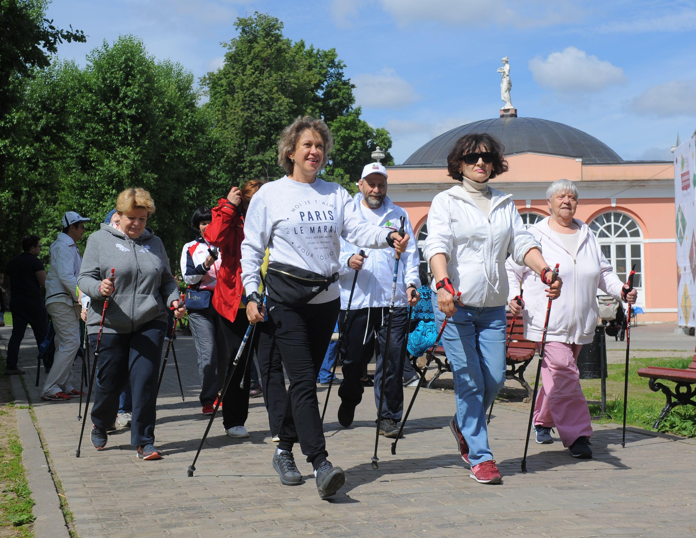 На юге Москвы пройдут соревнования по скандинавской ходьбе