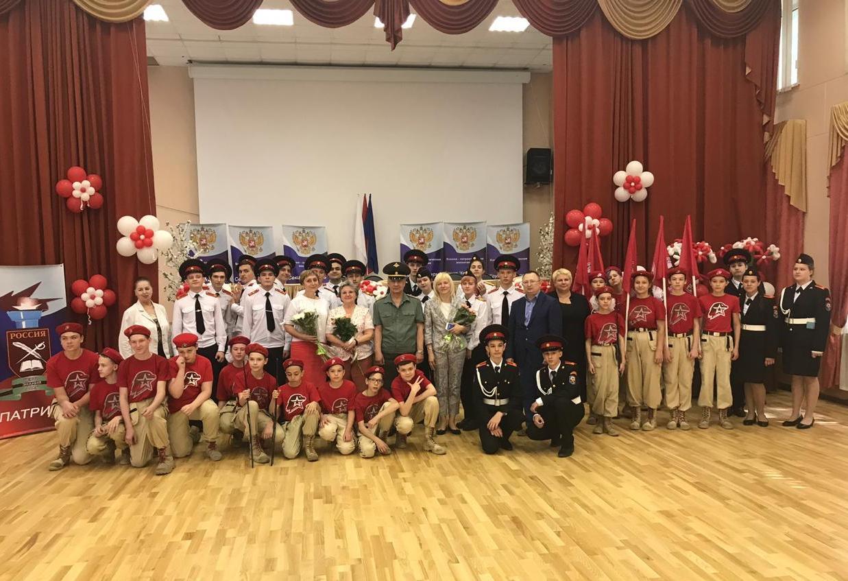 Выпускной первого кадетского класса провели в Орехове-Борисове Южном