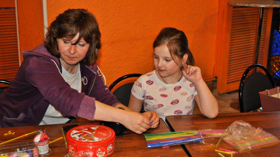 Мастер-класс по изготовлению поделок из соломинок провели в Культурном центре «Москворечье»