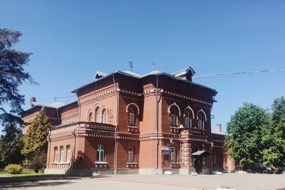 Административный корпус, наше время. Фото: Анастасия Кирсанова