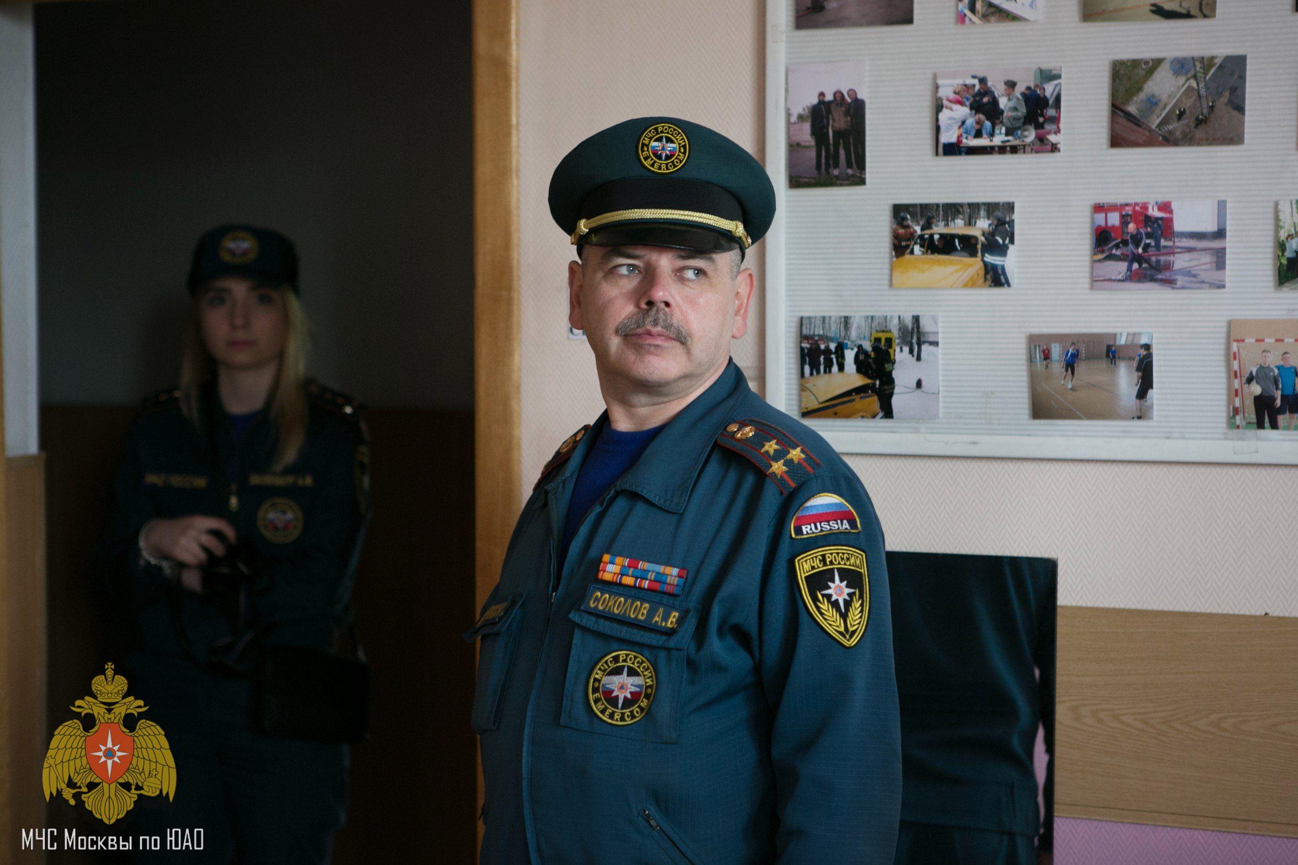 Прямой диалог с начальником 25 ПСО ФПС по г. Москве Алексеем Викторовичем Соколовым