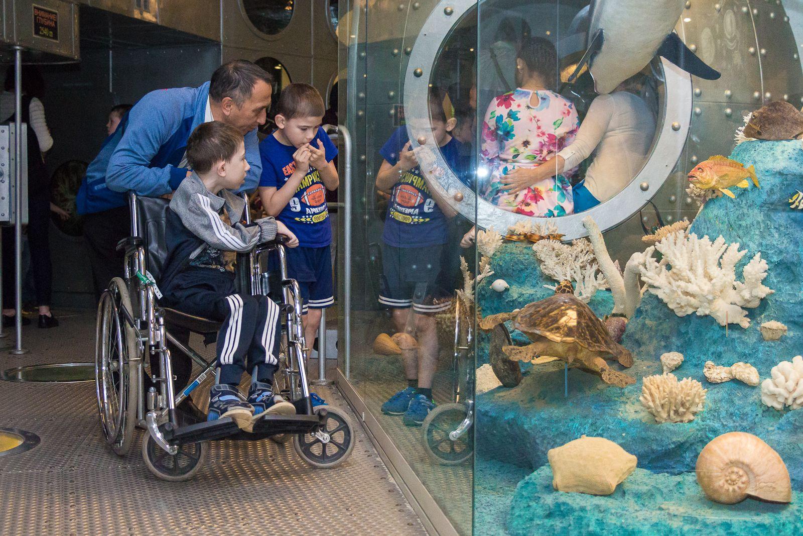 Праздник для детей с ограниченными возможностями здоровья проведут в Дарвиновском музее