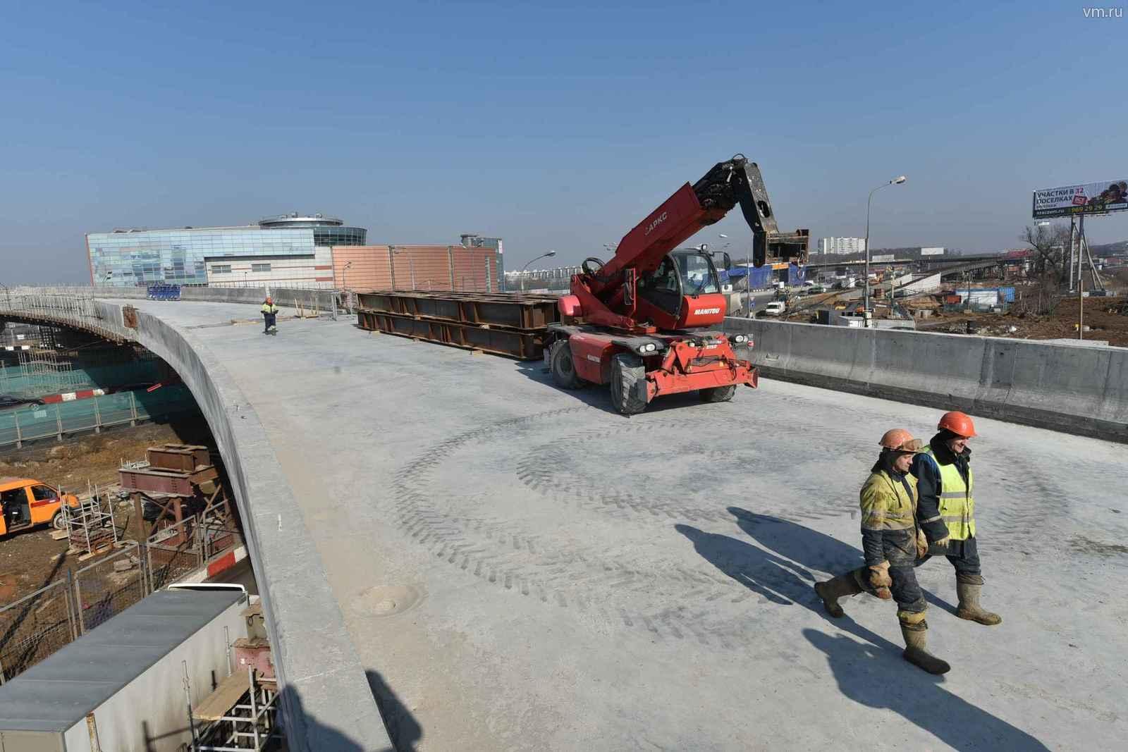 Реконструкцию Московской кольцевой автомобильной дороги закончат в 2021 году