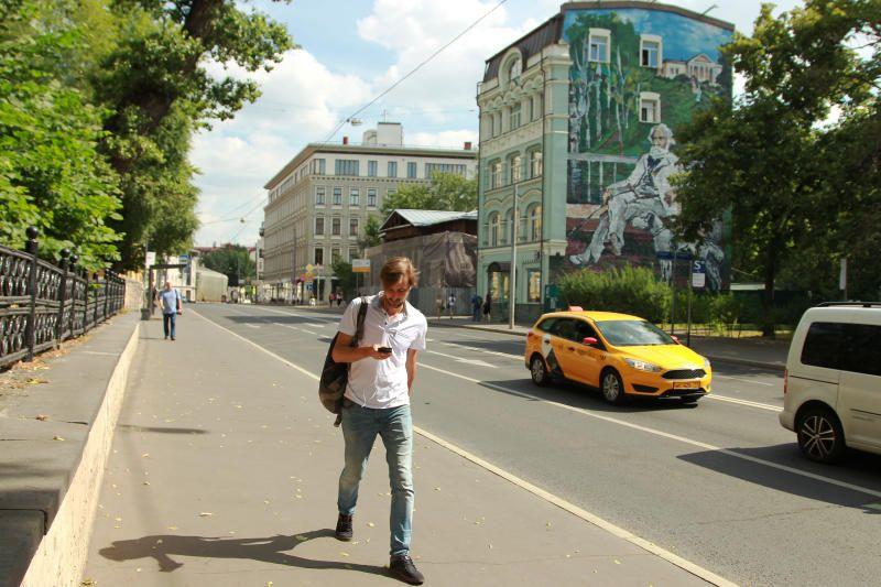 Улицу Остоженку и близлежащий к ней переулки благоустроят до середины осени