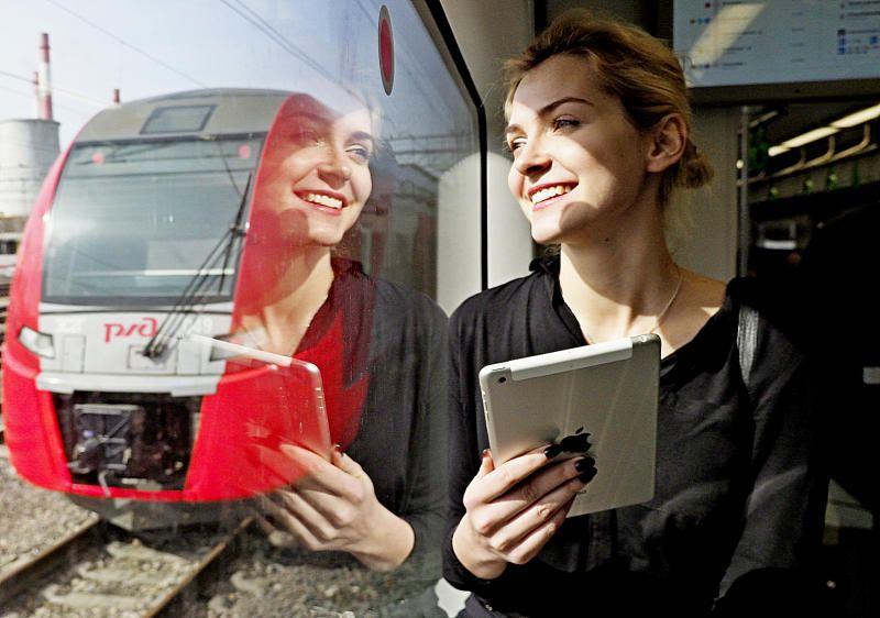 Число пассажиров МЦК в начале мая превысило три миллиона