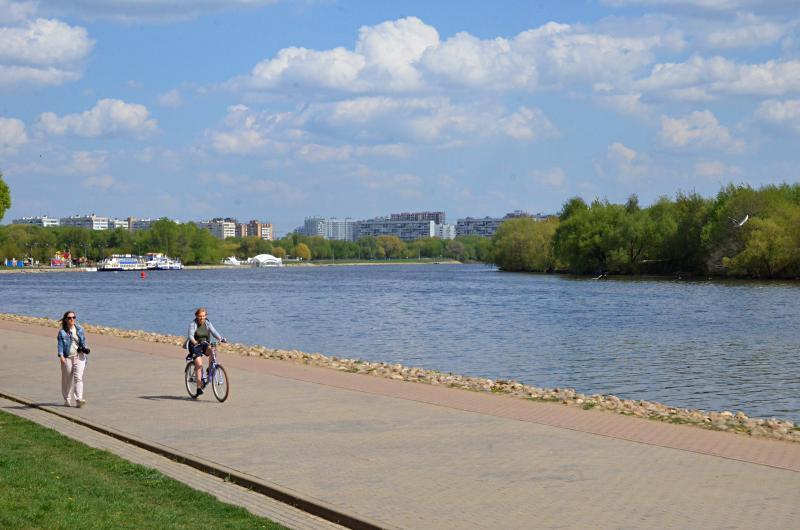 Теплая солнечная погода придет в Москву в воскресенье