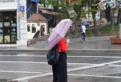 Дожди и грозы ждут москвичей 10 мая