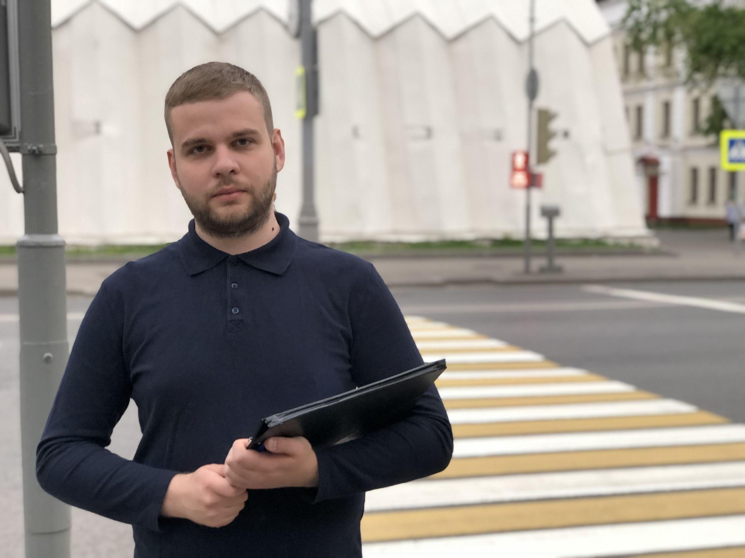 Молодые парламентарии выявили нарушения правил дорожного движения в Даниловском районе