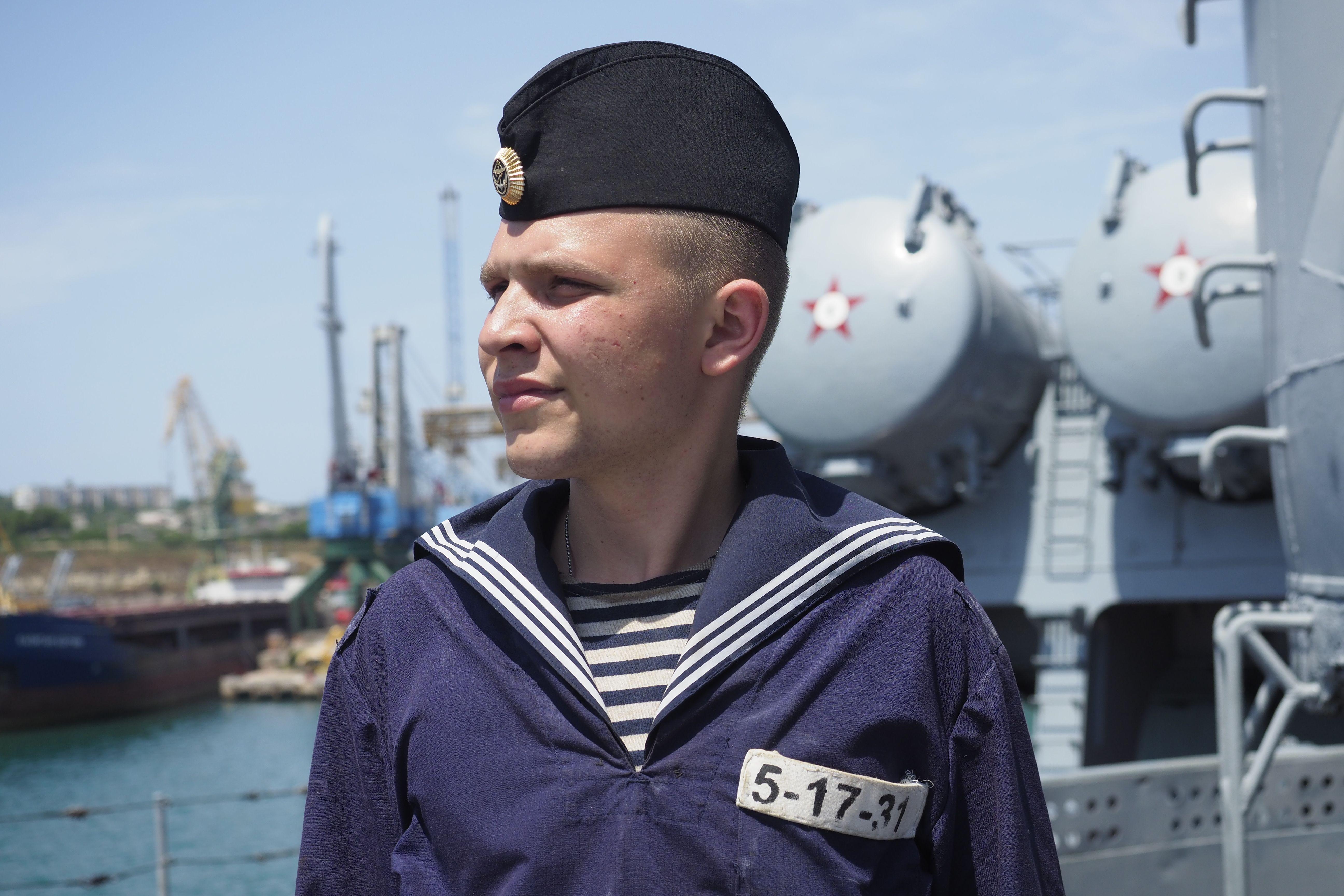 Мама, я моряк!