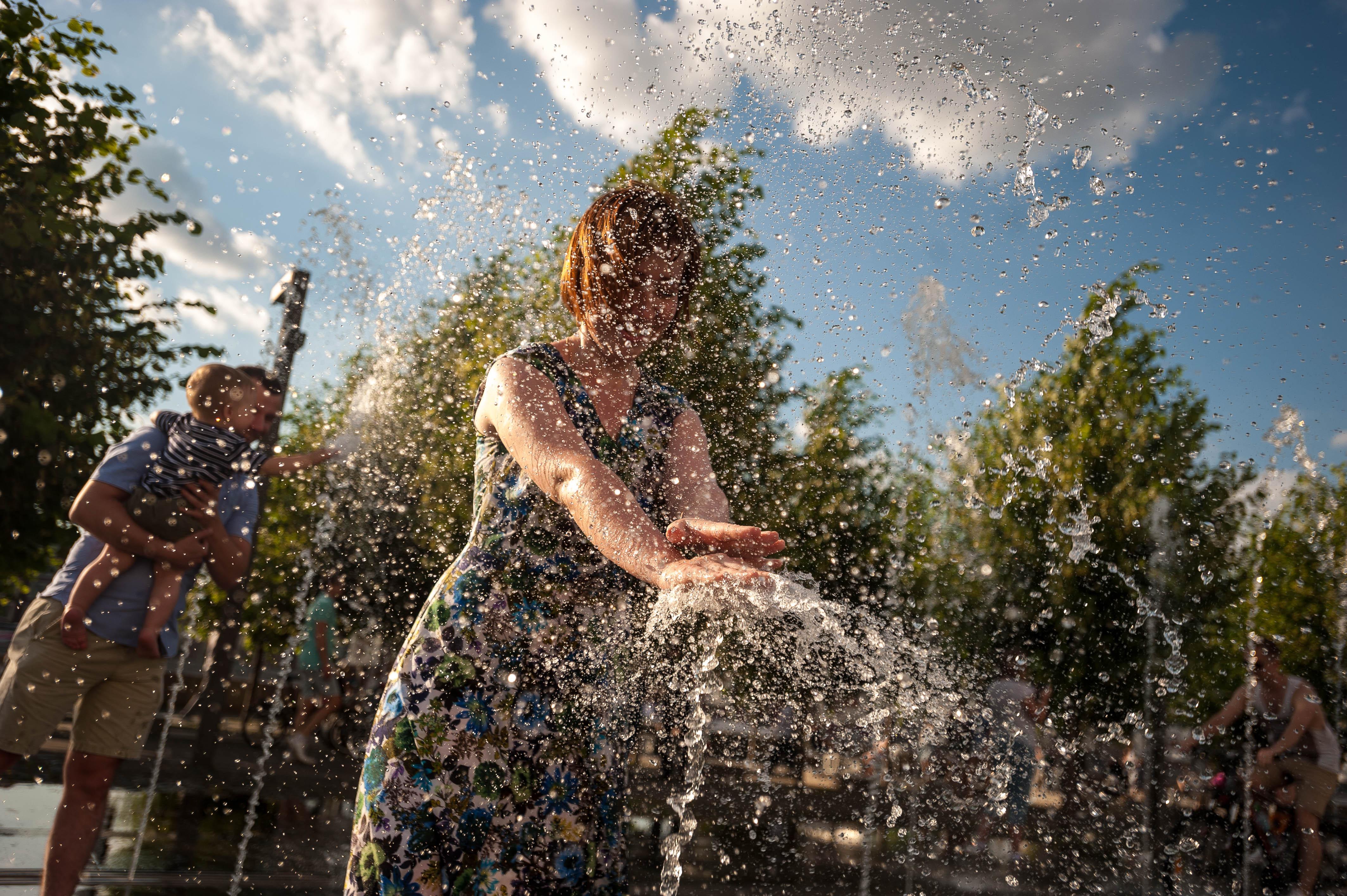 Москвичей ждет жаркая погода. Фото: Эмин Джафаров, «Вечерняя Москва»