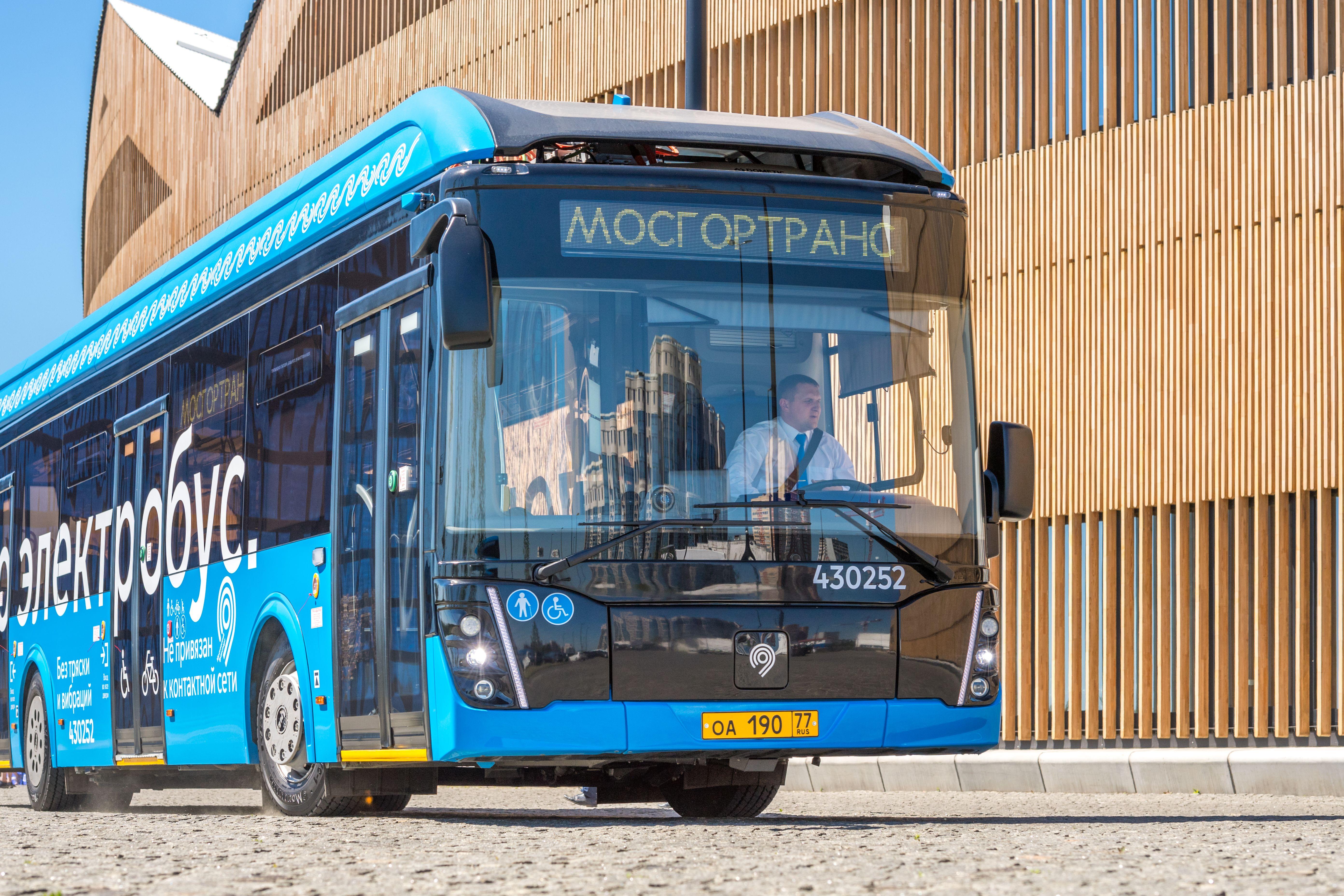 Электробусы появятся на юго-западе Москвы