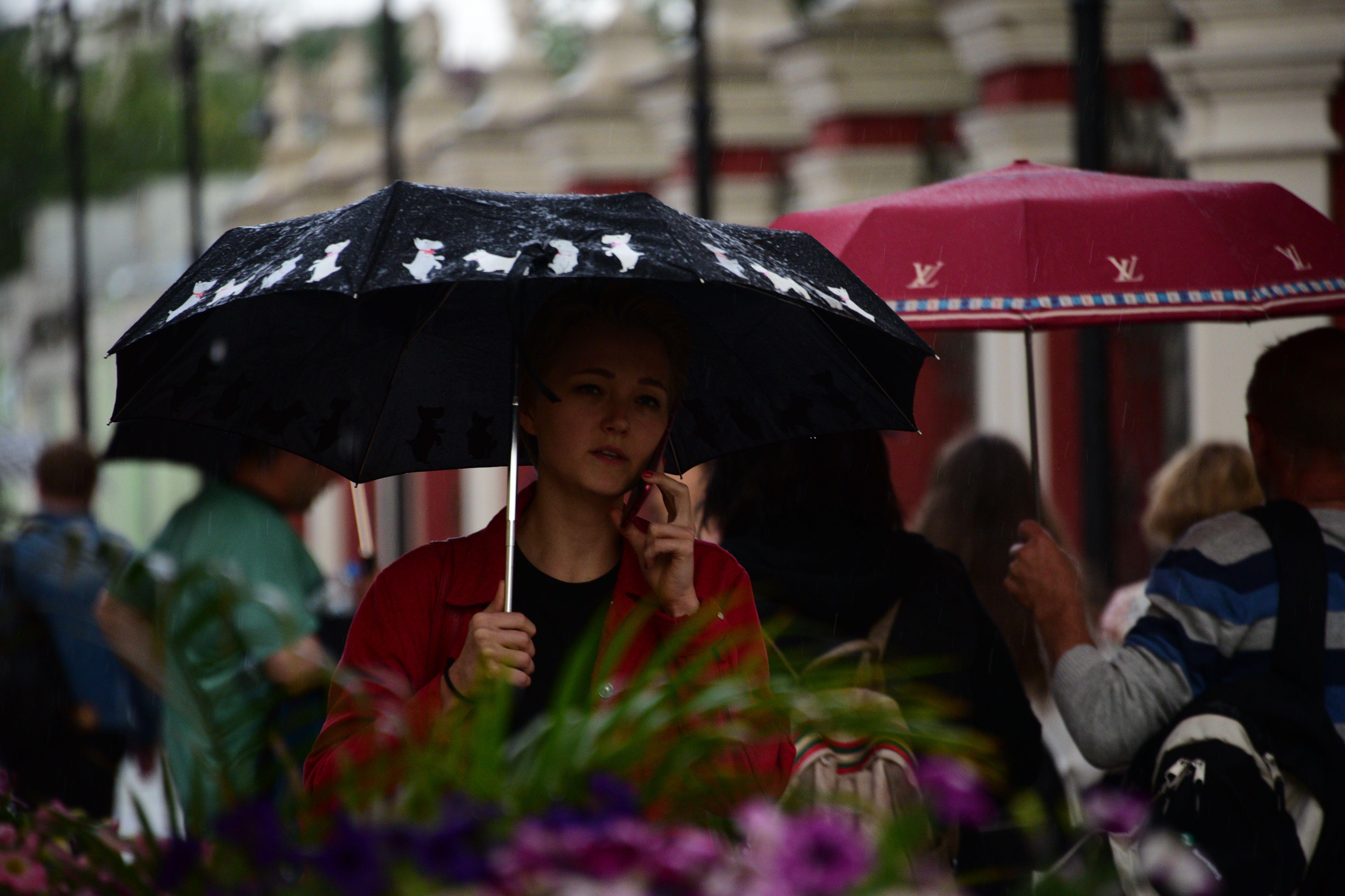 Жителям Москвы пообещали понижение температуры и дожди