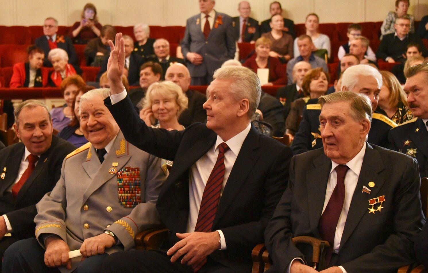 Сергей Собянин опубликовал телеграмму для ветеранов
