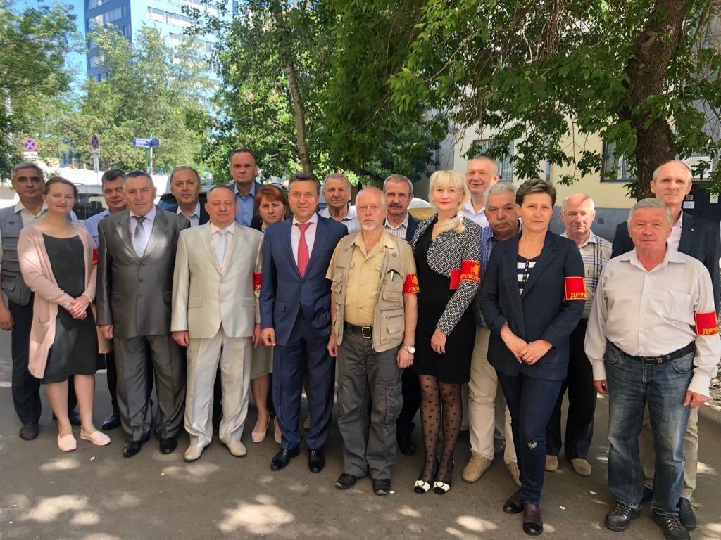 АНАТОЛИЙ ВЫБОРНЫЙ: «Народные дружинники Москвы вносят огромный вклад в дело по обеспечению безопасности общественного порядка»