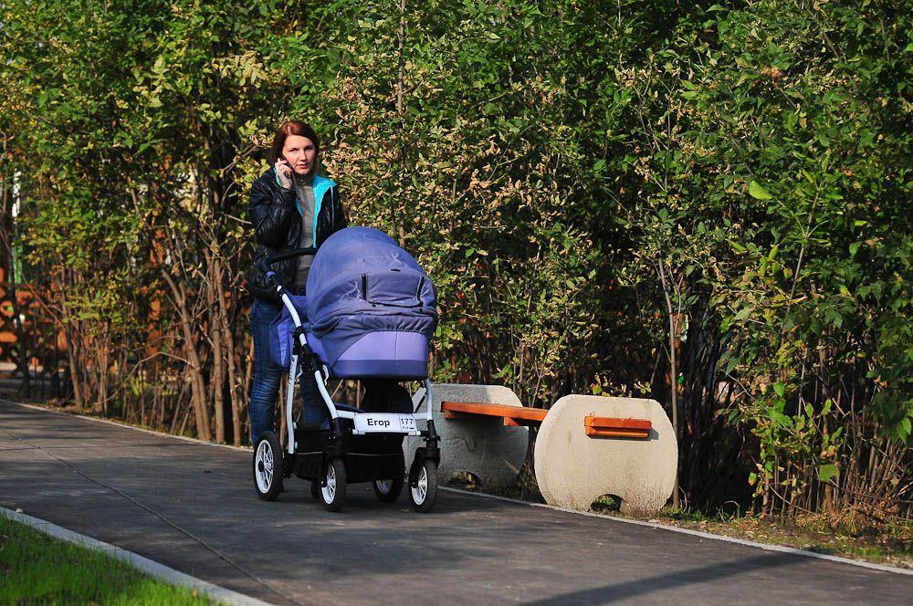 Аренда детских колясок стала доступна в парке «Коломенское»