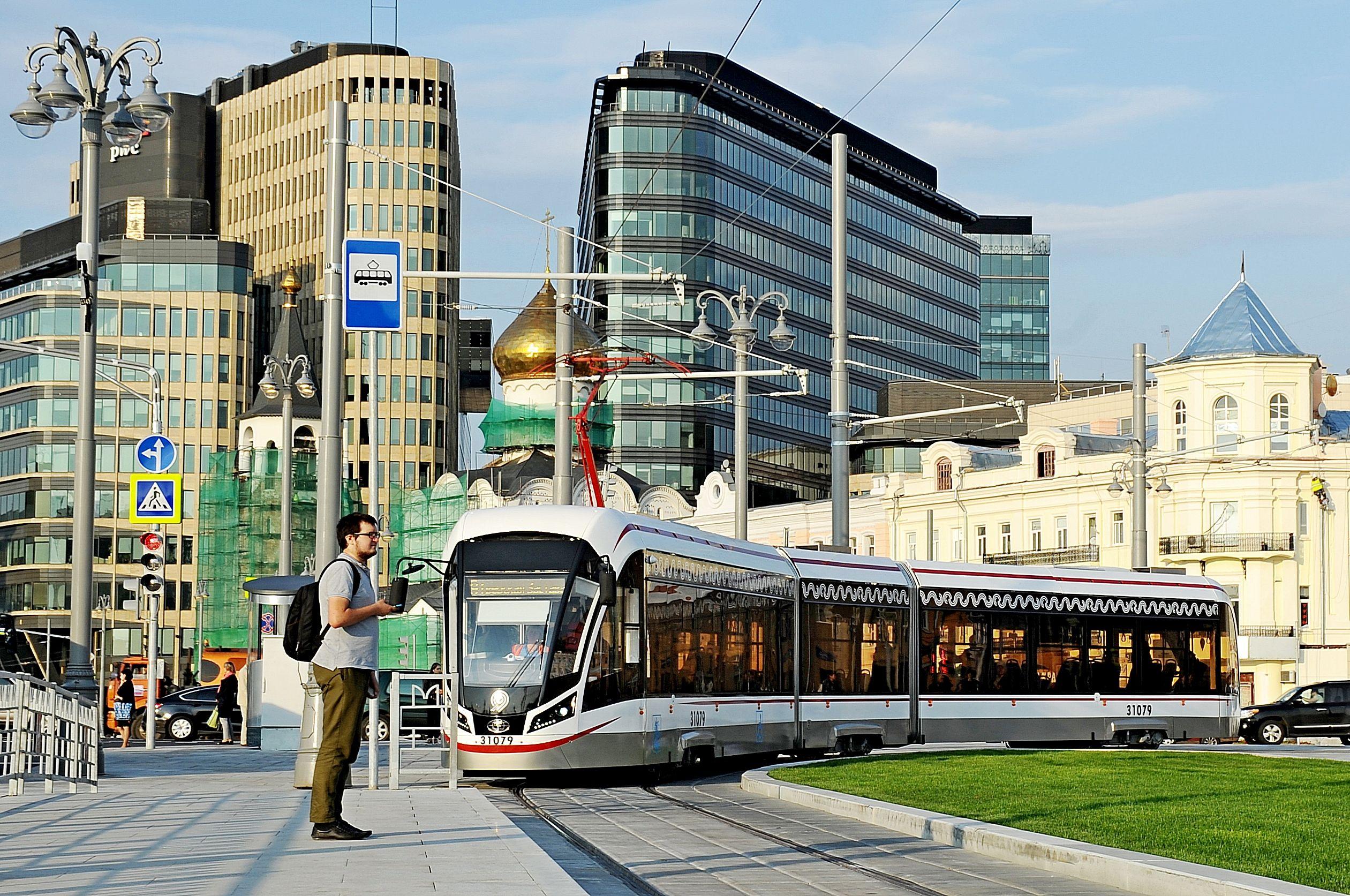Пассажиропоток трамваев «Витязь-Москва» превысил 340 тысяч человек в день