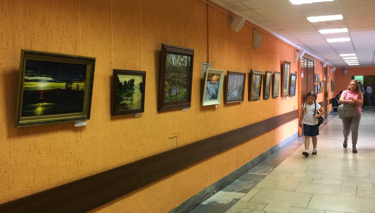 Пейзажную выставку открыли в Культурном центре «Москворечье»