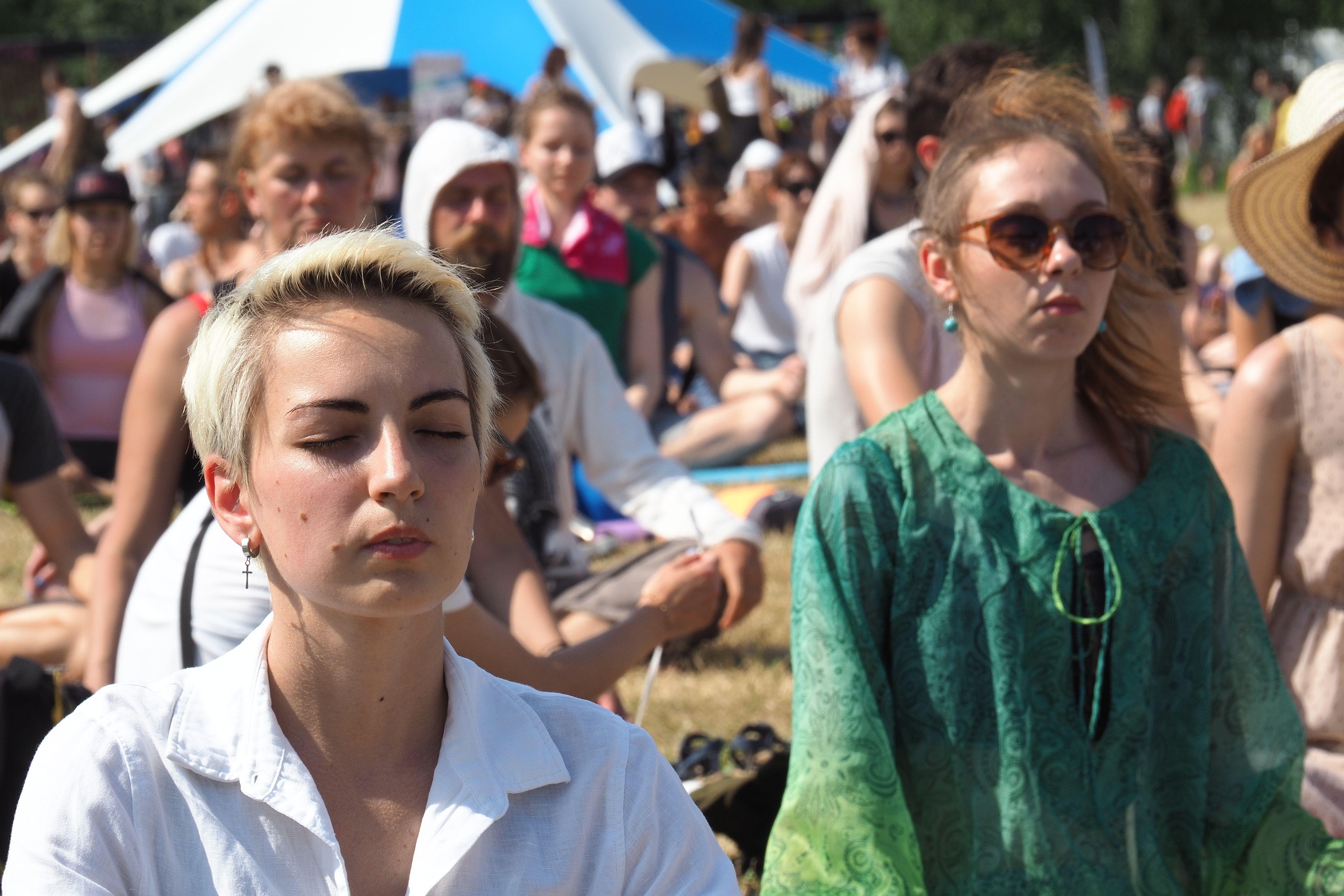 Как корреспондент «ЮГ» медитировать училась