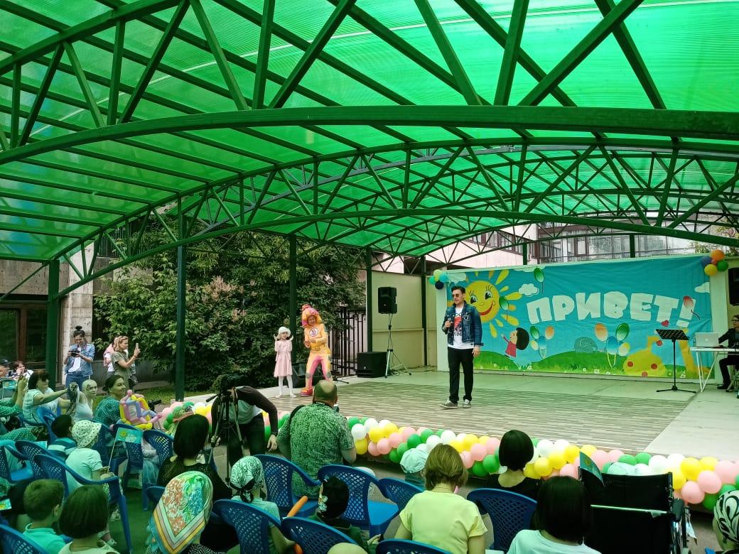 Праздник к Международному дню защиты детей провели в медицинском учреждении округа