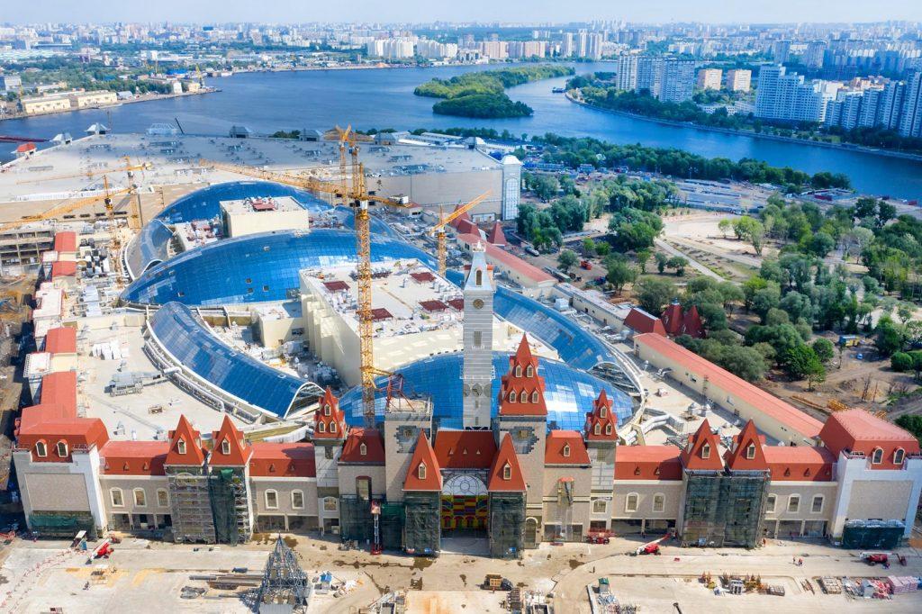 Качество строительных работ в «Острове мечты» оценят эксперты. Фото: сайт Комплекса градостроительной политики и строительства Москвы