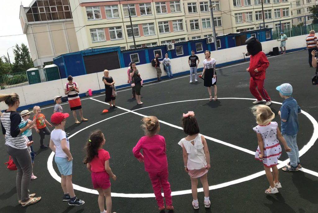 Как провели детский праздник в Бирюлеве Восточном. Фото предоставила председатель Молодежной палаты района Бирюлево Восточное Пелагея Канаровская
