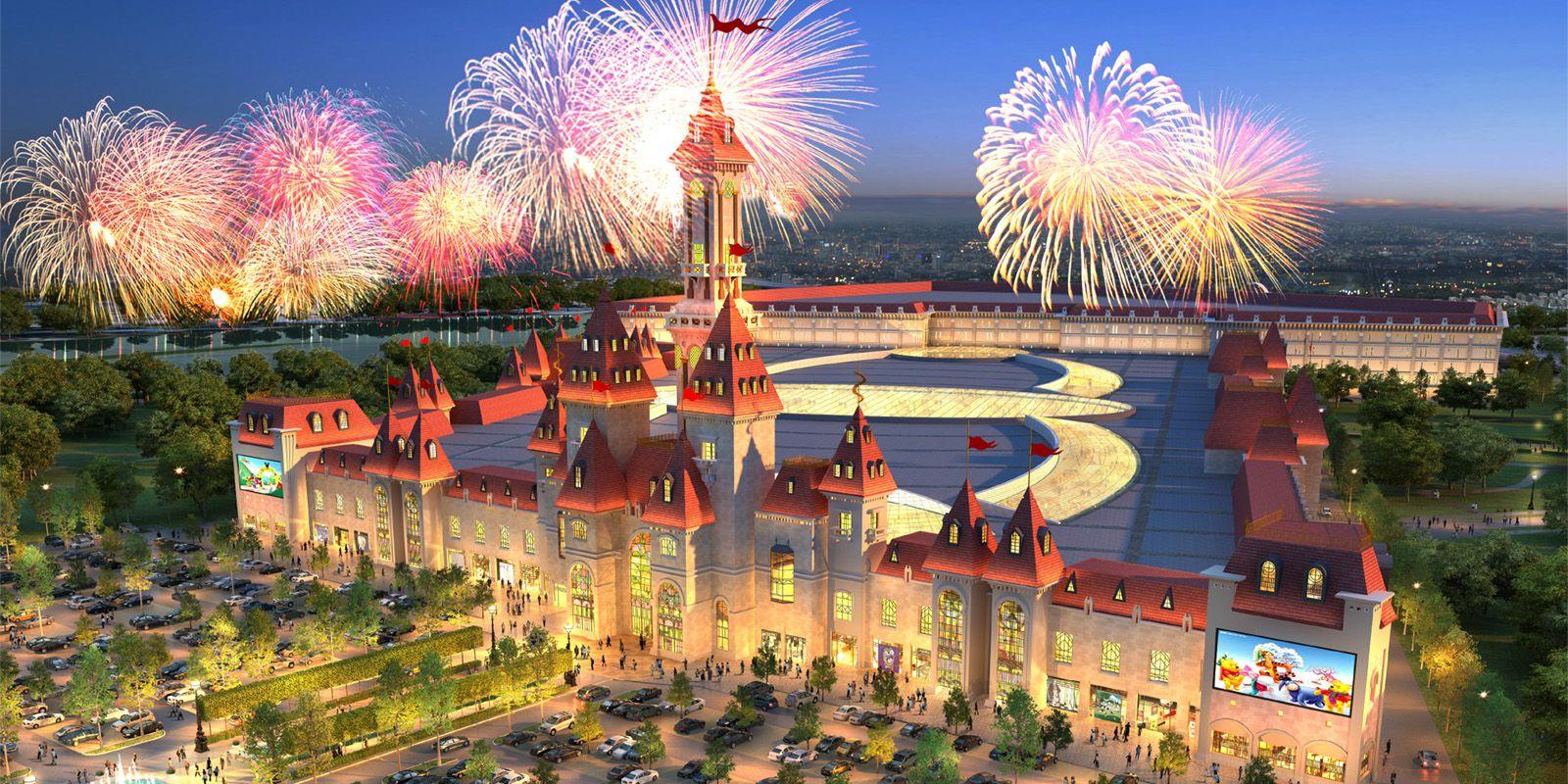 Экстремальный «Храм огня» появился в парке «Остров мечты» на юге Москвы