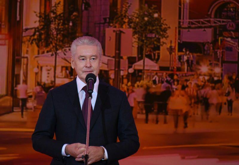 Мэр Москвы Сергей Собянин. Фото: Владимир Новиков, «Вечерняя Москва»