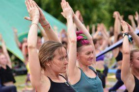 Международный день йоги отпразднуют в Царицыно. Фото: Пелагия Замятина, «Вечерняя Москва»
