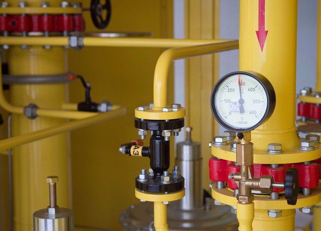 Газопровод на юге реконструируют