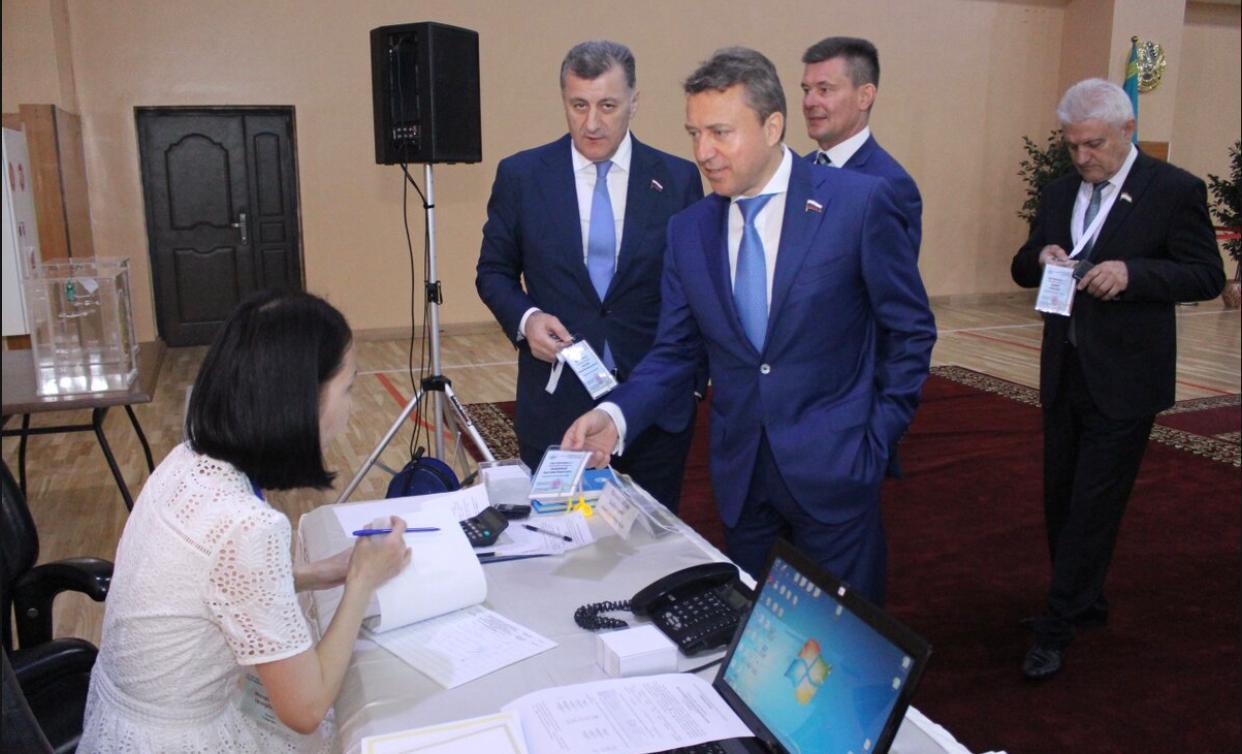 АНАТОЛИЙ ВЫБОРНЫЙ: «Выборы Президента Казахстана впечатлили уровнем организации и открытости»