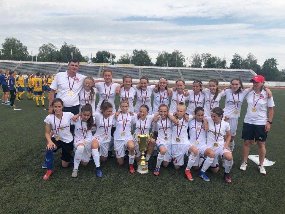 Футболистки из клуба «Чертаново» стали победителями первенства России