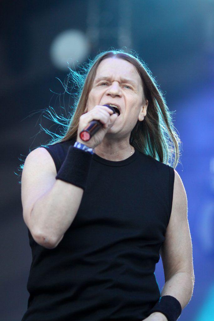 7 июля 2012 года. Валерий Кипелов на фестивале рок-музыки «Нашествие». Фото: PERSONASTARS