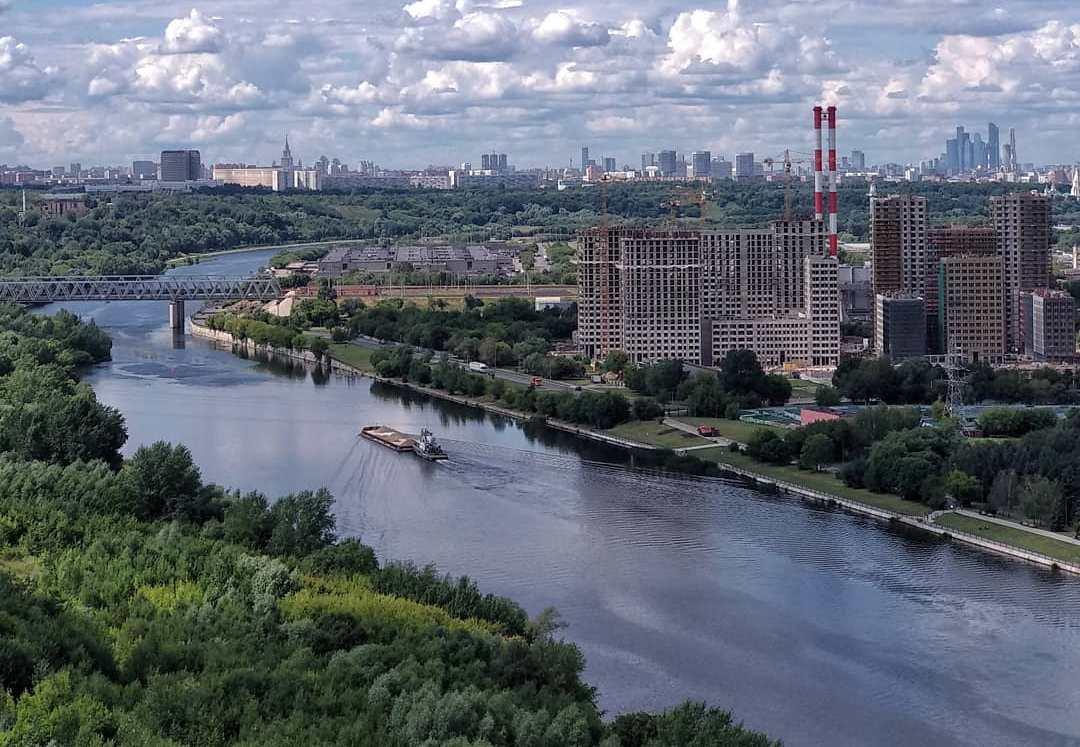 Народный корреспондент запечатлел вид на мегаполис