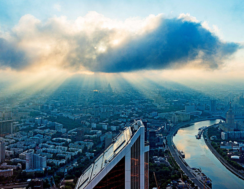 Потепление придет в Москву на выходных