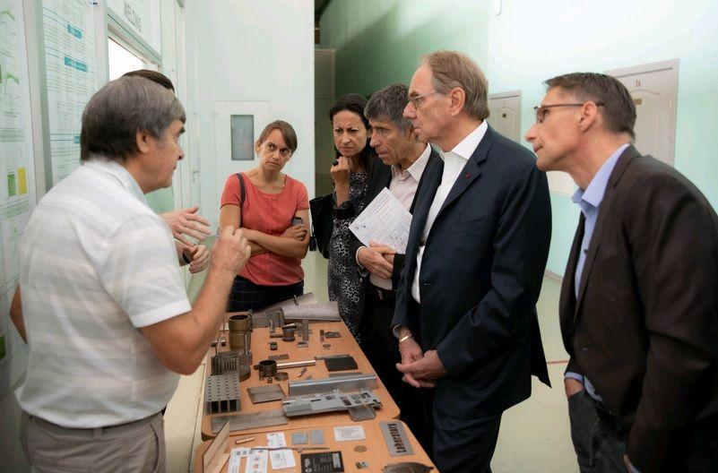 Ученые из Франции посетили «МИФИ»