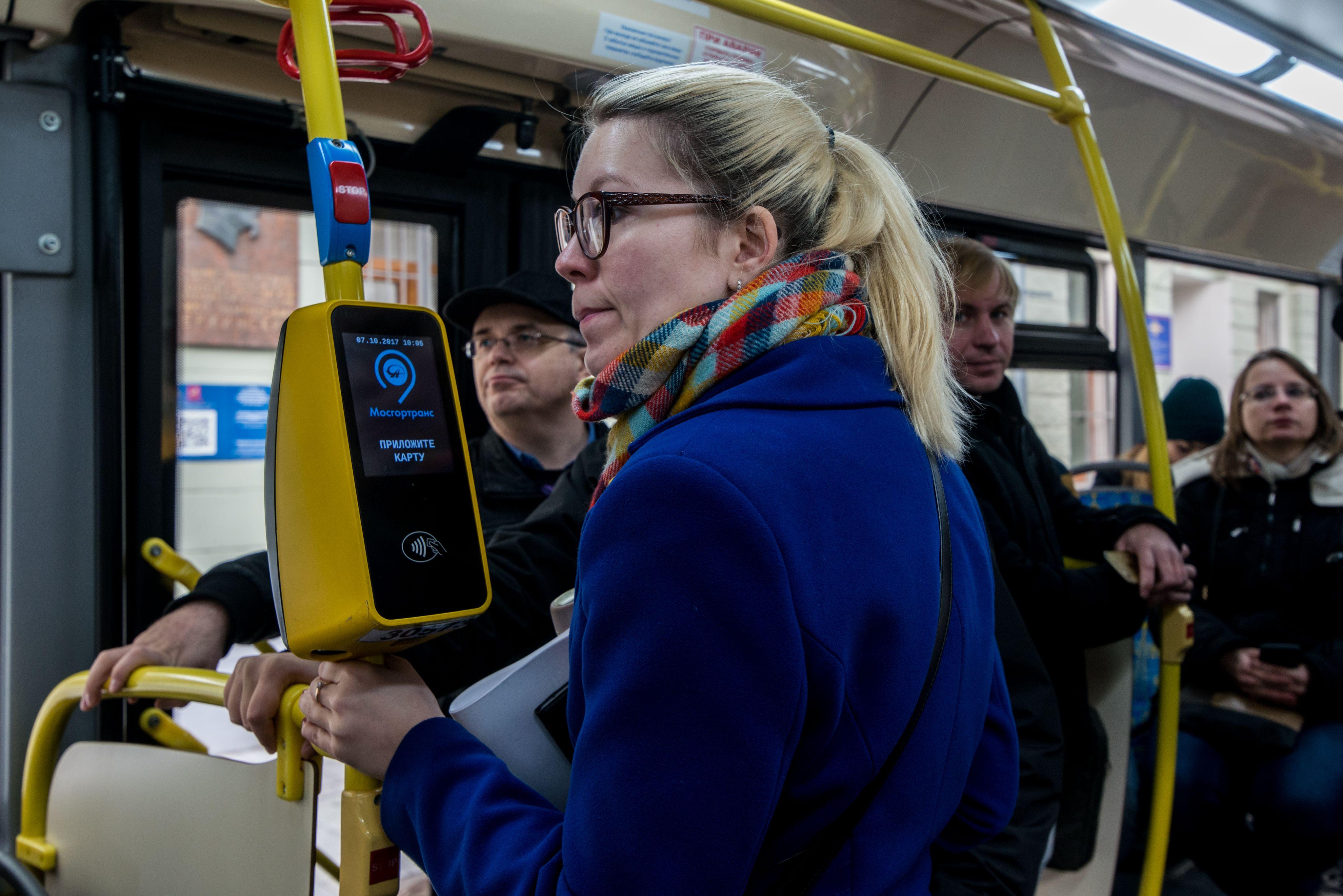 Москва внедрила бесконтактную оплату проезда еще на 30 маршрутах наземного транспорта