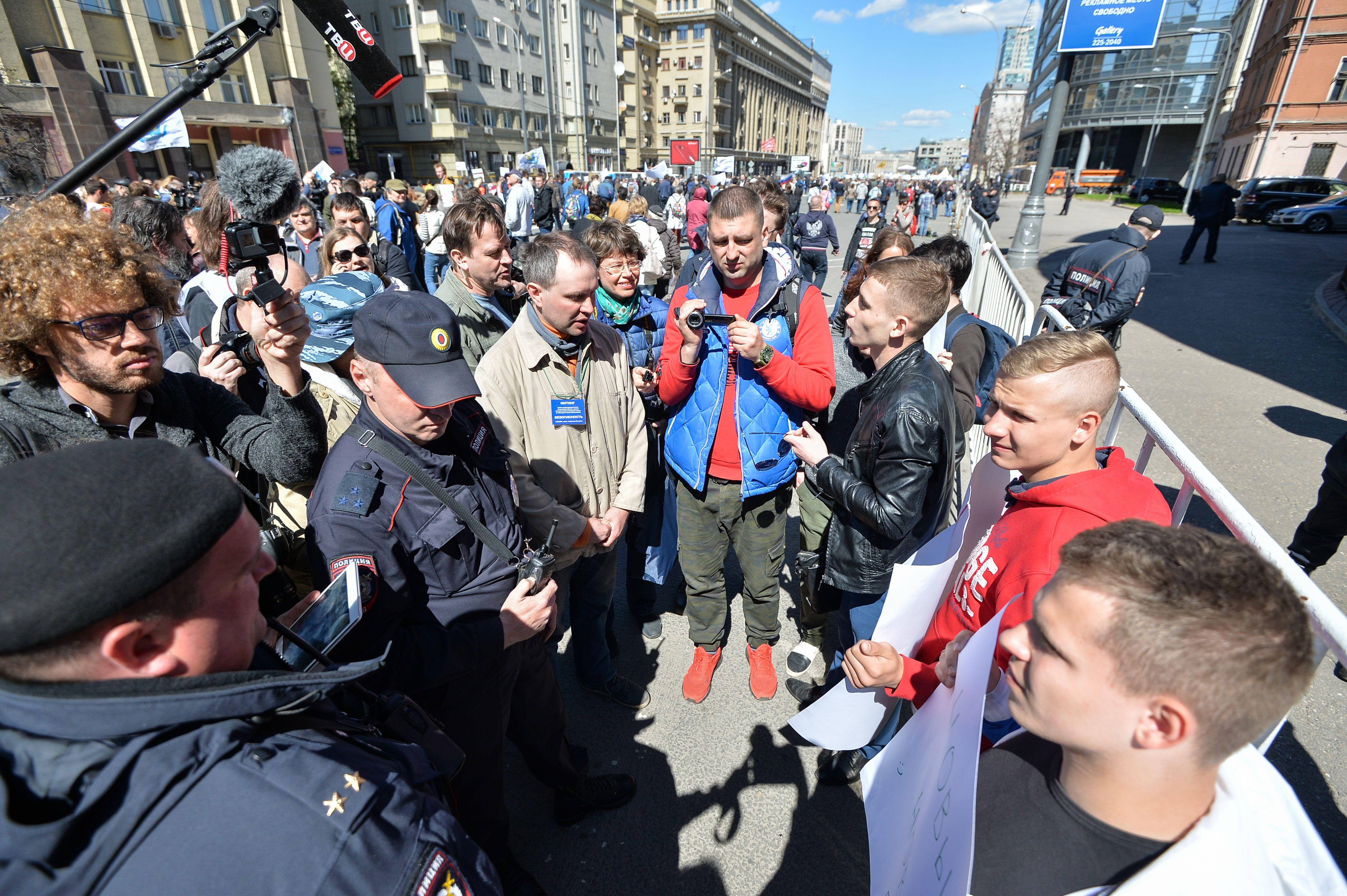 В Москве согласованы митинги по выборам на 20 и 21 июля