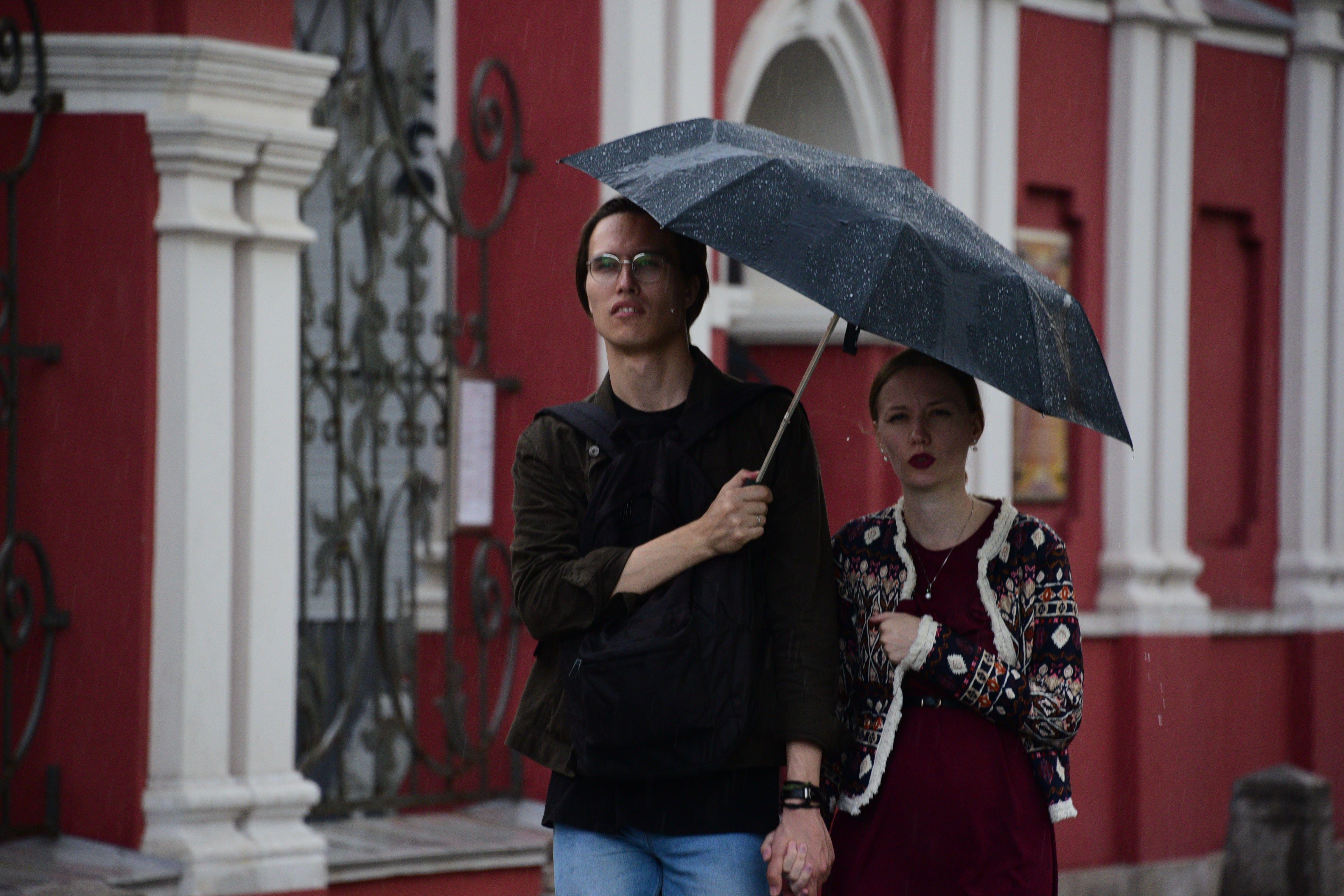 Москвичей ожидает дождливое воскресенье.Фото: архив, «Вечерняя Москва»