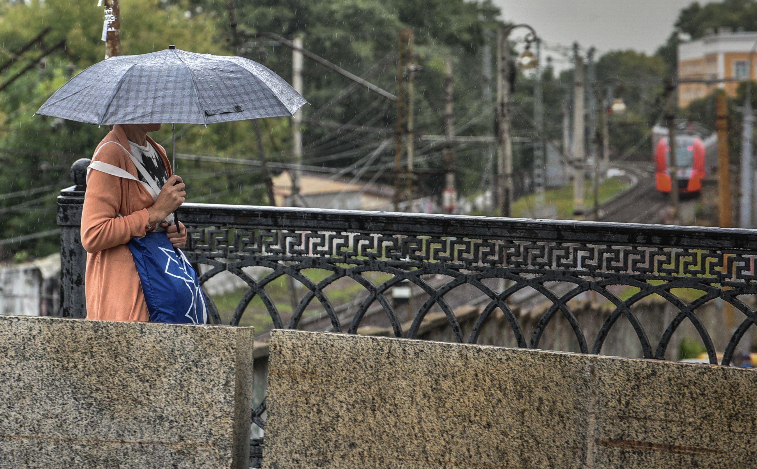Погода в Москве обещает быть дождливой и холодной