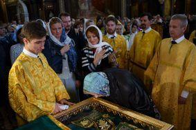Время доступа для паломничества к мощам Петра и Февронии увеличили на час.Фото: архив, «Вечерняя Москва»