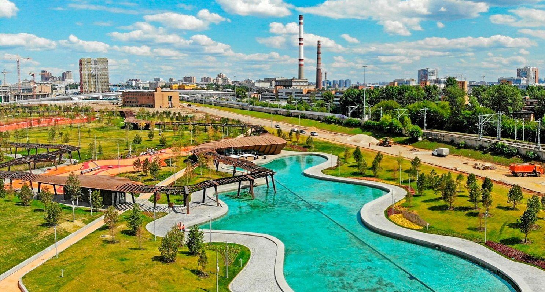 Парк «Тюфелева роща» на юге Москвы номинирован на архитектурный «Оскар»