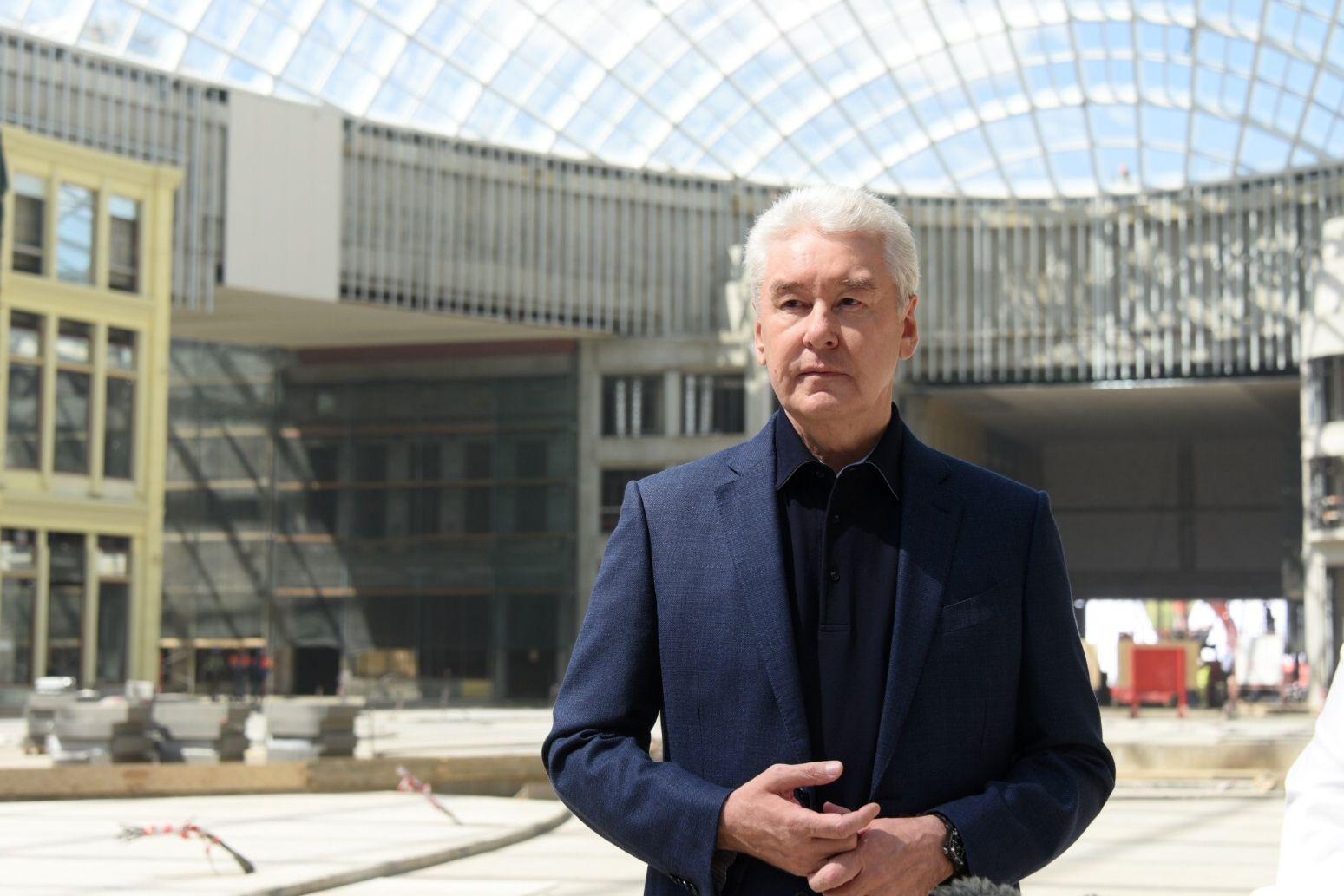 Сергей Собянин рассказал о ходе строительства парка «Остров мечты»