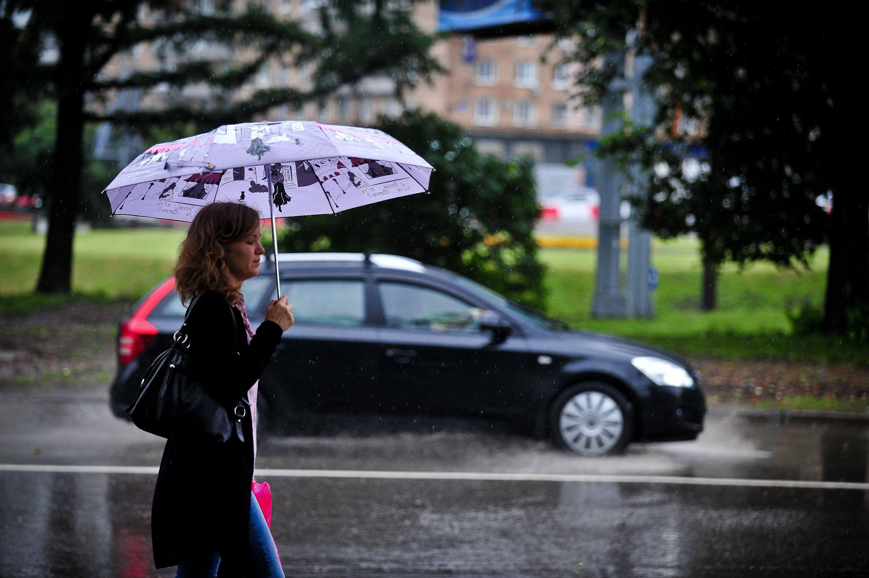 Грозы обрушатся на Москву в середине недели