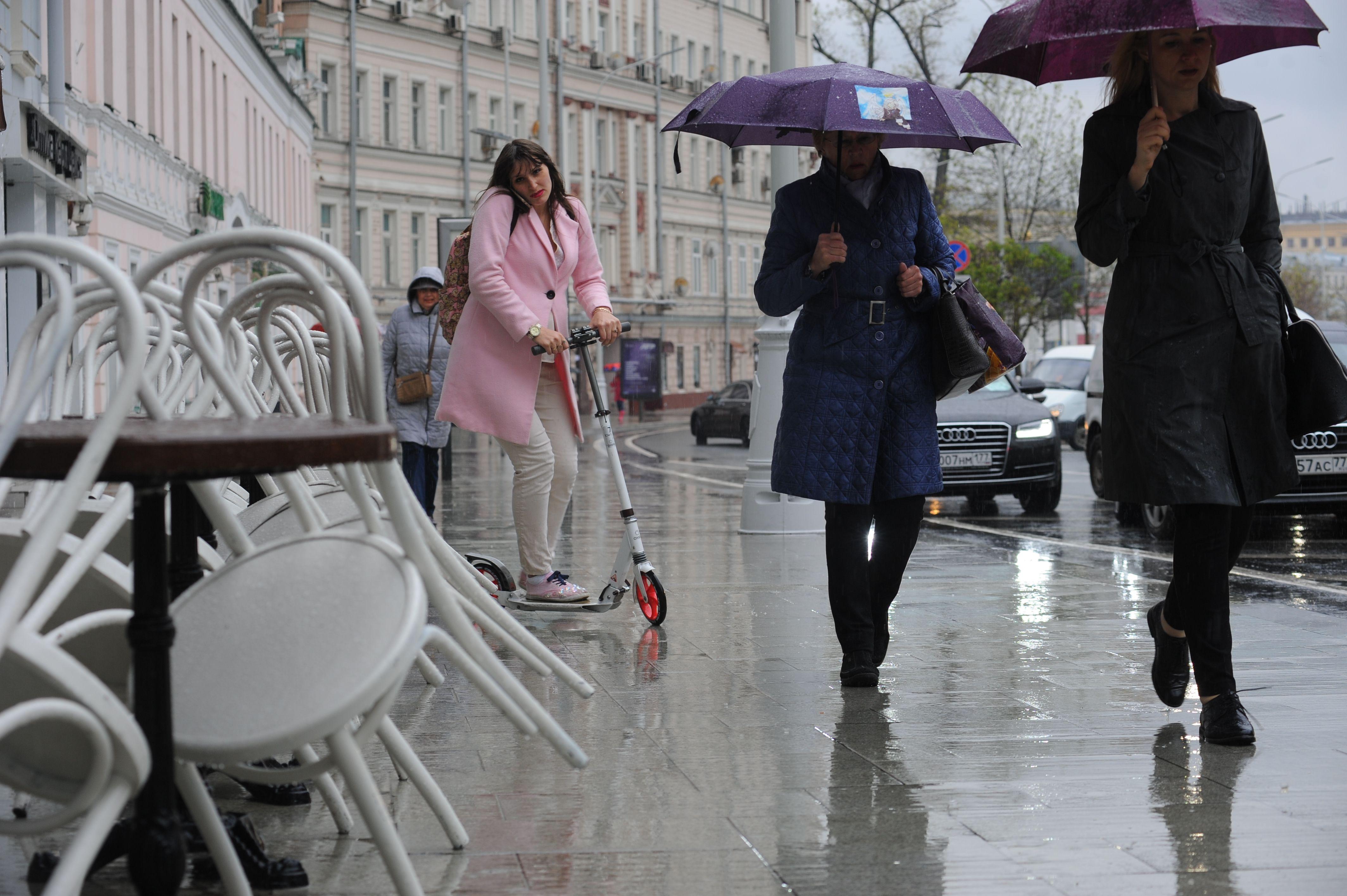 Московская температура вновь понизится в четверг