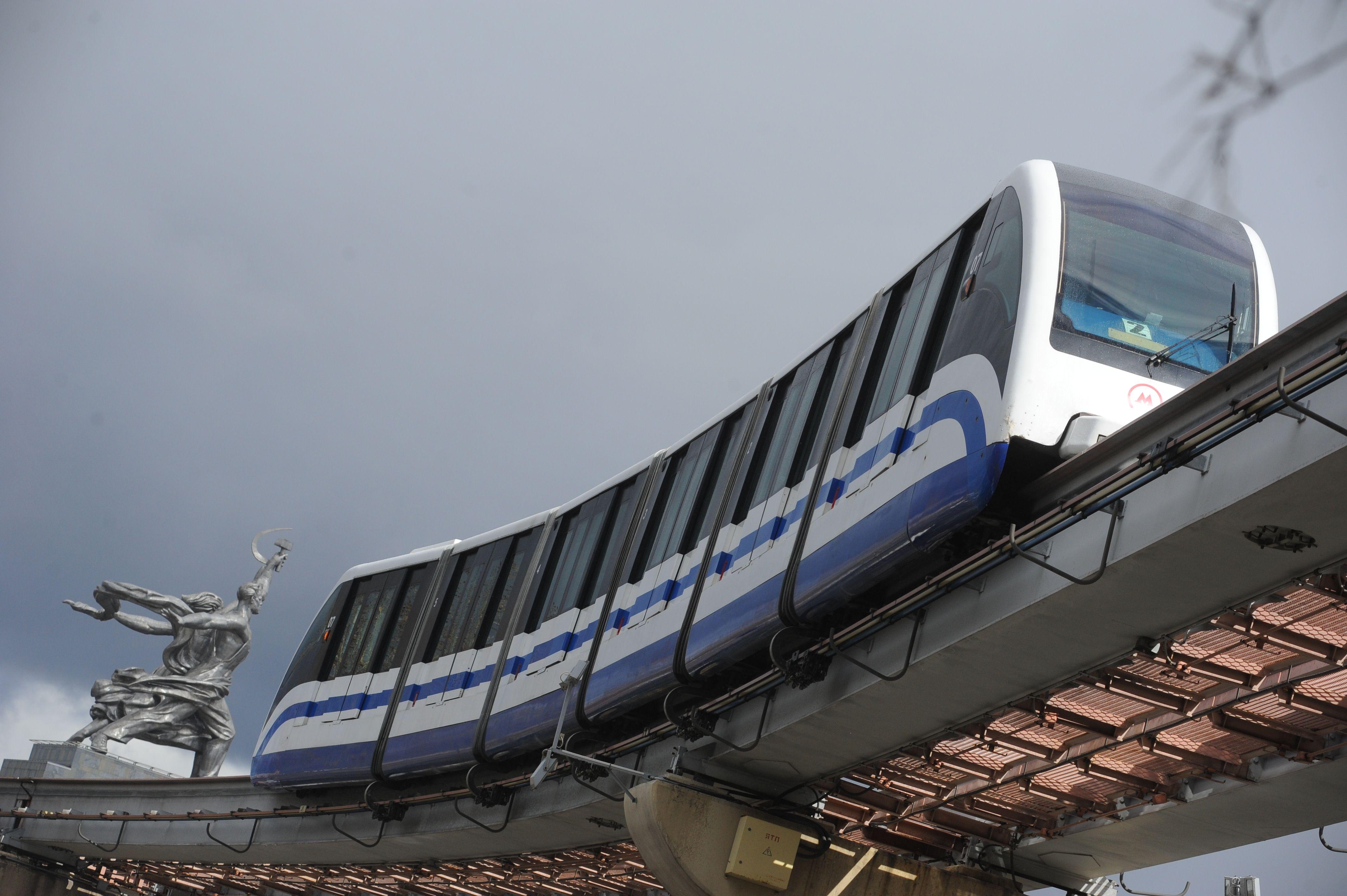 За полгода власти Москвы придумают, как соединить монорельс с трамваями