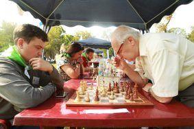 День шахмат на ВДНХ посетили 60 тысяч человек.Фото: архив, «Вечерняя Москва»